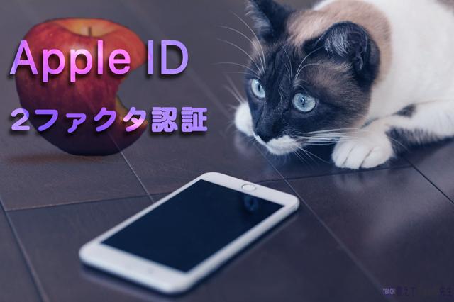 Apple IDへサインインできない 2ファクタ認証は無効にできない場合があるので注意が必要