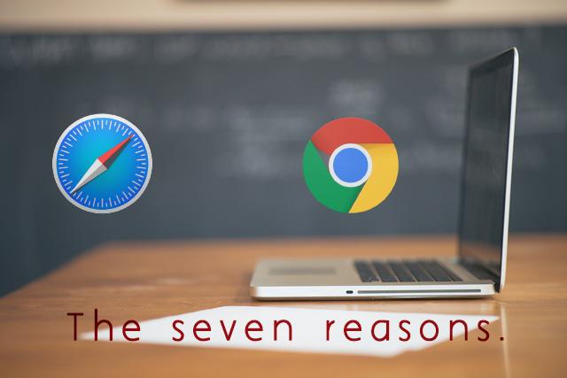 MacユーザーがSafariを使ってはいけない7つの理由