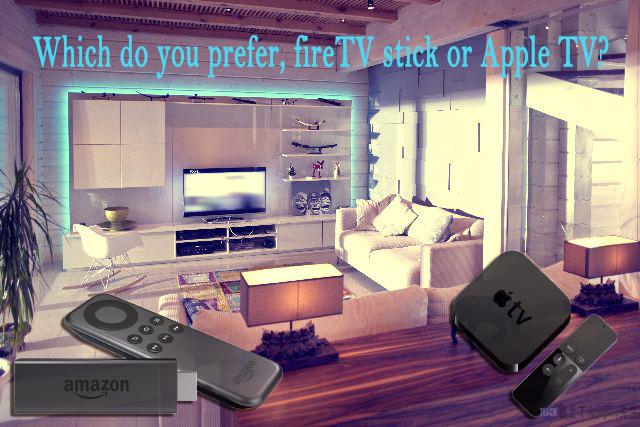 4つの理由でApple TVではなくfireTV stickを購入してみた