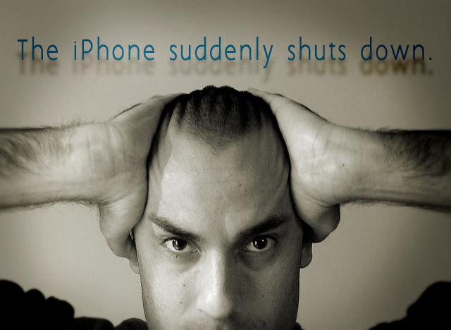 iPhone交換プログラム対象製品以外でも突然 電源が落ちてしまう